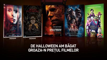 Curajos de Halloween? Cinema City a măcelarit prețurile la5 filme noi de neratat pe Marile Ecrane