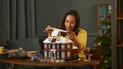Casa din Singur acasă ia forma LEGO