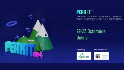Vineri și sâmbătă, marathon pentru comunitatea IT: începe PeakIT 004, a patra ediție