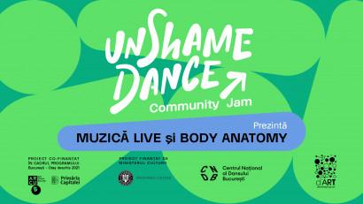 Tutorial de anatomie funcțională și mișcare, în română: UnShame Dance ||| Community Jam
