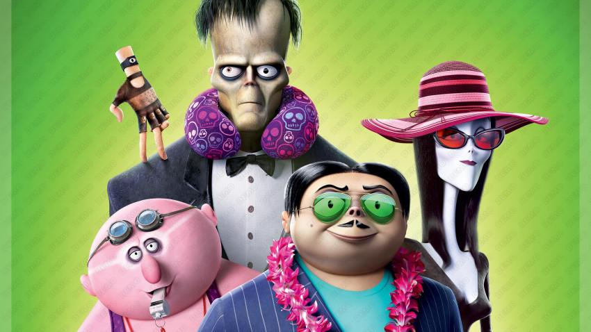 """""""The Addams Family 2/ Familia Addams 2"""" un roadmovie exotic, o animație originală plină de aventuri stranii și umor bizar"""