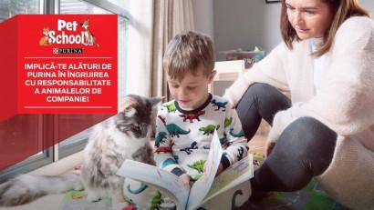 """""""Animalele de companie sunt ființe vii, nu jucării"""", campania de conștientizare prin care copiii învată despre responsabilitatea de a avea un prieten necuvăntator"""
