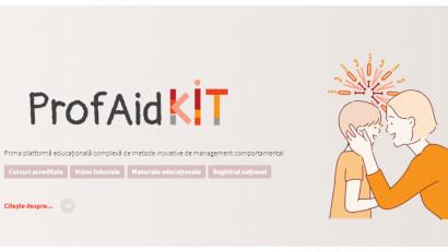 Compania Ideologiq donează 10.000 euro pentru ProfAid KIT,prima platformă educațională ce oferă instrumente inovative de management comportamental, pentru copiii cu tulburări din spectrul autist