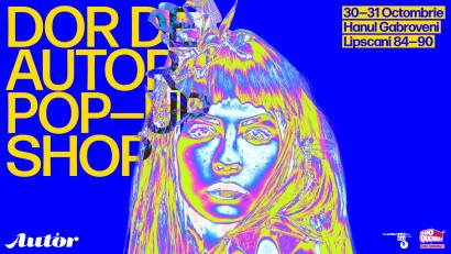 Bijuteria contemporană ne dă întâlnire la DOR de AUTOR Pop-Up Shop pe 30-31 octombrie