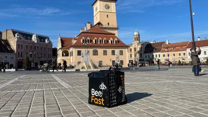 BeeFast se extinde în Brașov.Estimări: 35 de minute timpul mediu de livrare și 300 comenzi zilnice până la finalul anului