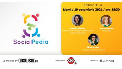SocialPedia 31:Despre Girl Power în Social Media cu Amalia Năstase, Marta Ușurelu și Aluziva