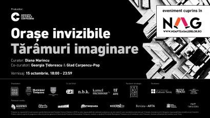 Orașe invizibile / Tărâmuri imaginare - o nouă expoziție de artă contemporană la Timișoara invită publicul într-o călătorie introspectivă și utopică