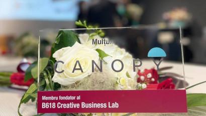 Canopy contribuie la realizarea Creative Business Lab, laborator modern pentru studenții FEAA, IAȘI