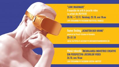 """""""Creatori virtuali – Jocuri video și realitate mixtă"""",un proiect la granița dintre realitate și virtual"""