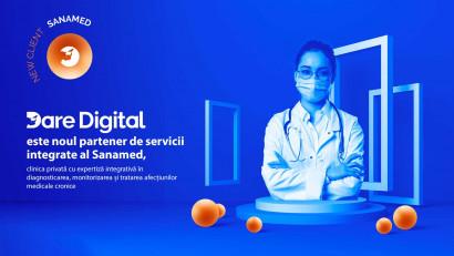 Dare Digital este noul partener de servicii integrate al Sanamed