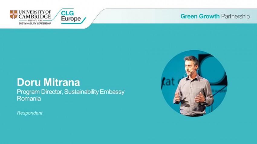 Ambasada Sustenabilității, reprezentanta României la dezbaterile din cadrul summitului Green Growth 2021, pe tema Fit for 55, cel mai ambițios plan din lume în materie de schimbări climatice