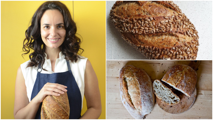 """Viviana Marza: Cand m-am apucat eu de paine, erau abia inceputurile """"renașterii"""" painii cu maia in Romania. Sigur, bunicii nostri faceau tot cu maia, dar s-a cam pierdut mestesugul acela"""