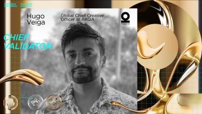 Internetics prezintă Juriul ediției cu numărul 21.Jury Chair: Hugo Veiga, Global Chief Creative Officer AKQA