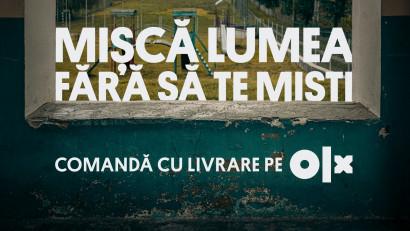 Mișcă lumea fără să te miștialături de OLX și Publicis România