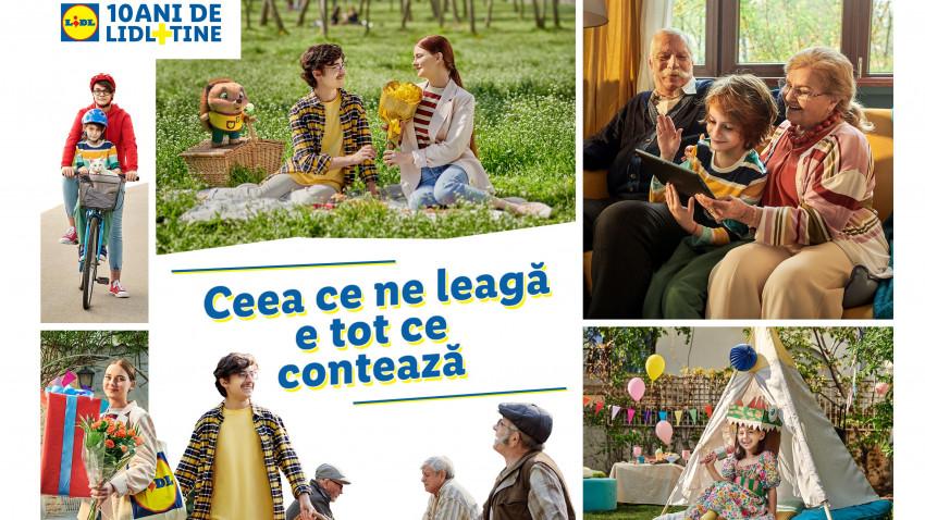Lidl România și Mullen: campanie de zece (ani) care celebrează relațiile ce dau valoare vieții de zi cu zi