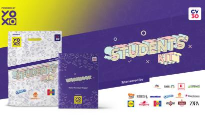Viața de student este mai frumoasă cu YOXO în calitate de partener principal al Students' Kit