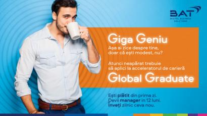 BAT România lansează programul Global Graduate pentru tinerii absolvenți