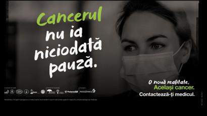 """AstraZeneca România trage un semnal de alarmă despre importanța diagnosticării precoce în cancer prin campania""""O nouă realitate. Același cancer"""", în colaborare cu Medic One"""