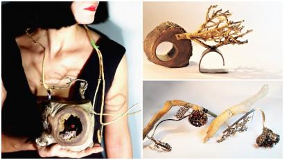 Silvia Cruceru: Folosesc adesea in crearea bijuteriilor mele fragmente de materiale gasite accidental, cel mai adesea pe strada