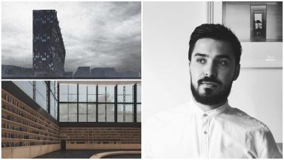 [Diploma Stories] Mihai Șom: Incerc sa observ procesul civilizator pe care il presupune proiectarea de arhitectura, influenta orasului asupra teritoriului