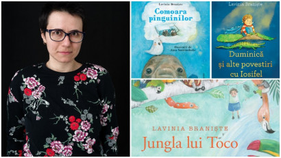 Lavinia Braniște: Eu, ca scriitoare, mi-am asumat de mult că nu pot mulțumi pe toată lumea, dar unele edituri cred că sunt un pic prea atente la absolut tot ce se discută pe grupurile de părinți