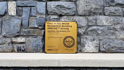 IMMUNE Building Standard™ marchează o nouă etapă majoră de extindere: prima clădire rezidențială din lume, certificată IMMUNE™