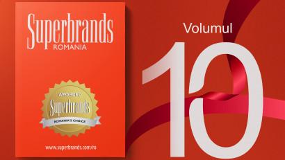 25 de branduri excepționale își spun povestea în volumul 10 al cărții Superbrands pentru România